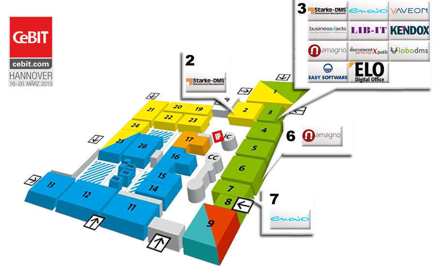 CeBIT 2015 DMS/ECM Software